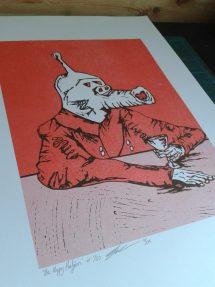 Meet Greg Meade - the artist behind our logo & 'Shapechanger' artwork